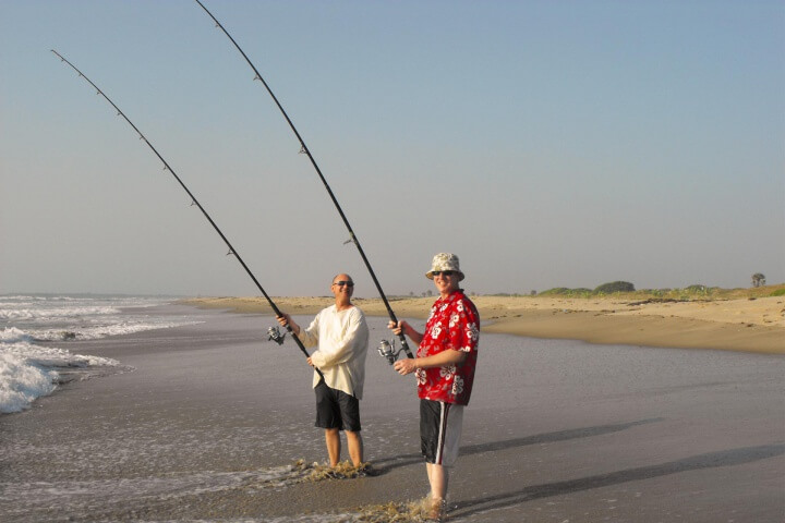Gambia activities | beach fishing | portrait