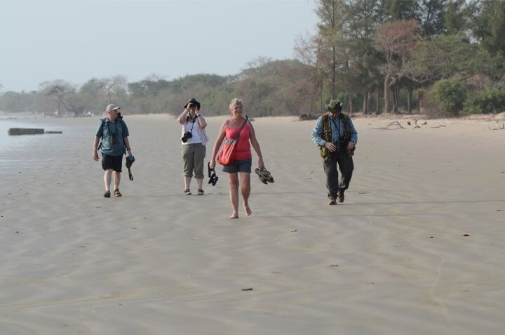 Sanyang to Gunjur beach walk