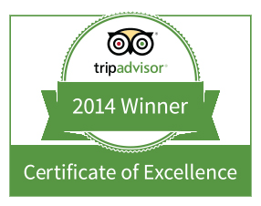 Footsteps eco-lodge Gambia | Tripadvisor 2014 certificate of excellence