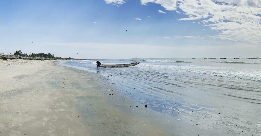 Deserted Beach   Gambia