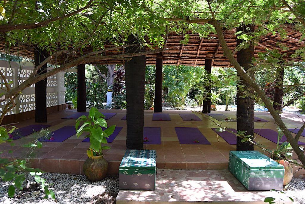 Gambia yoga review by Karen Calder