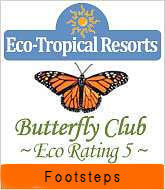 Footsteps eco-lodge Gambia | Awards | Butterfly eco rating 2015