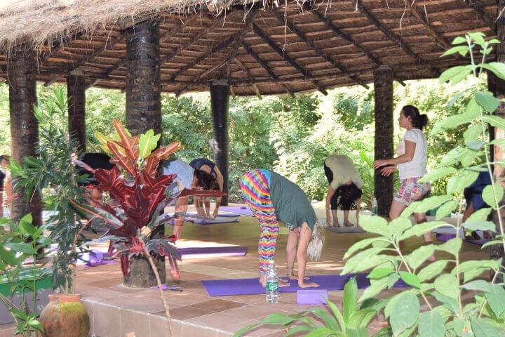 yoga holiday gambia