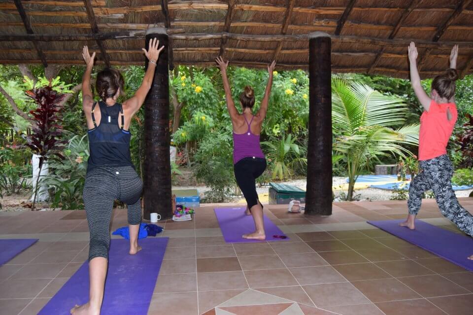 le yoga sur les traces