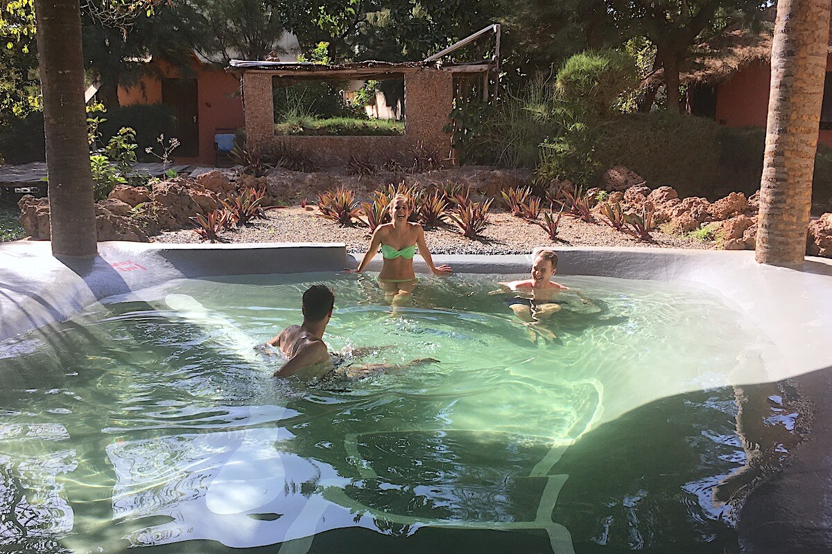 Gambia's only eco-pool
