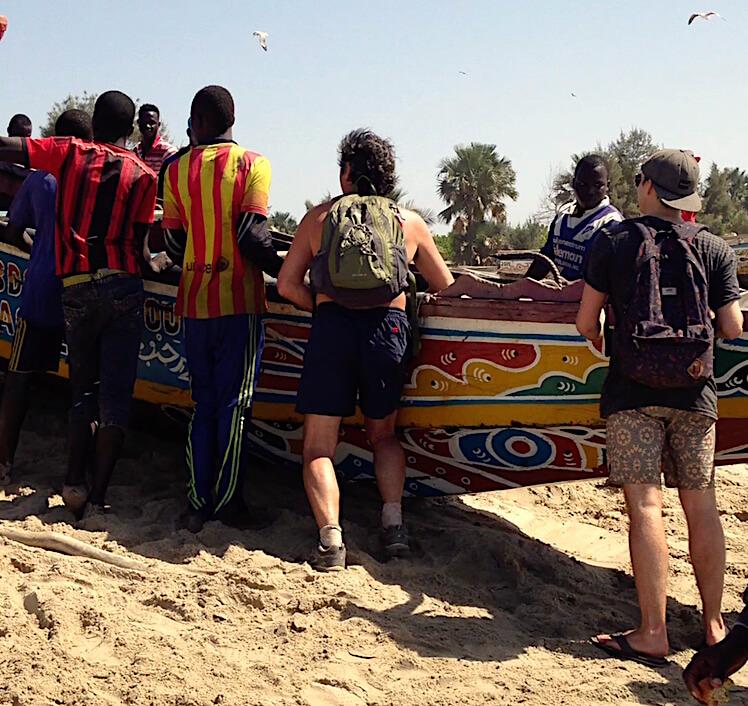 Boat at Gunjur