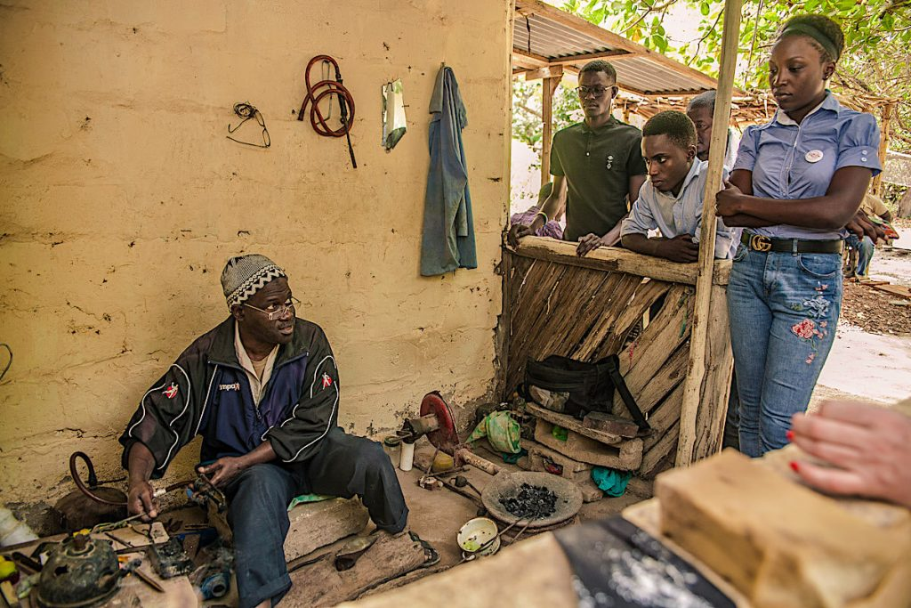 Gambia silver smith
