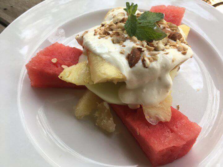Breakfast fresh fruit