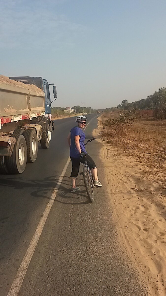 Gambia by bicycle