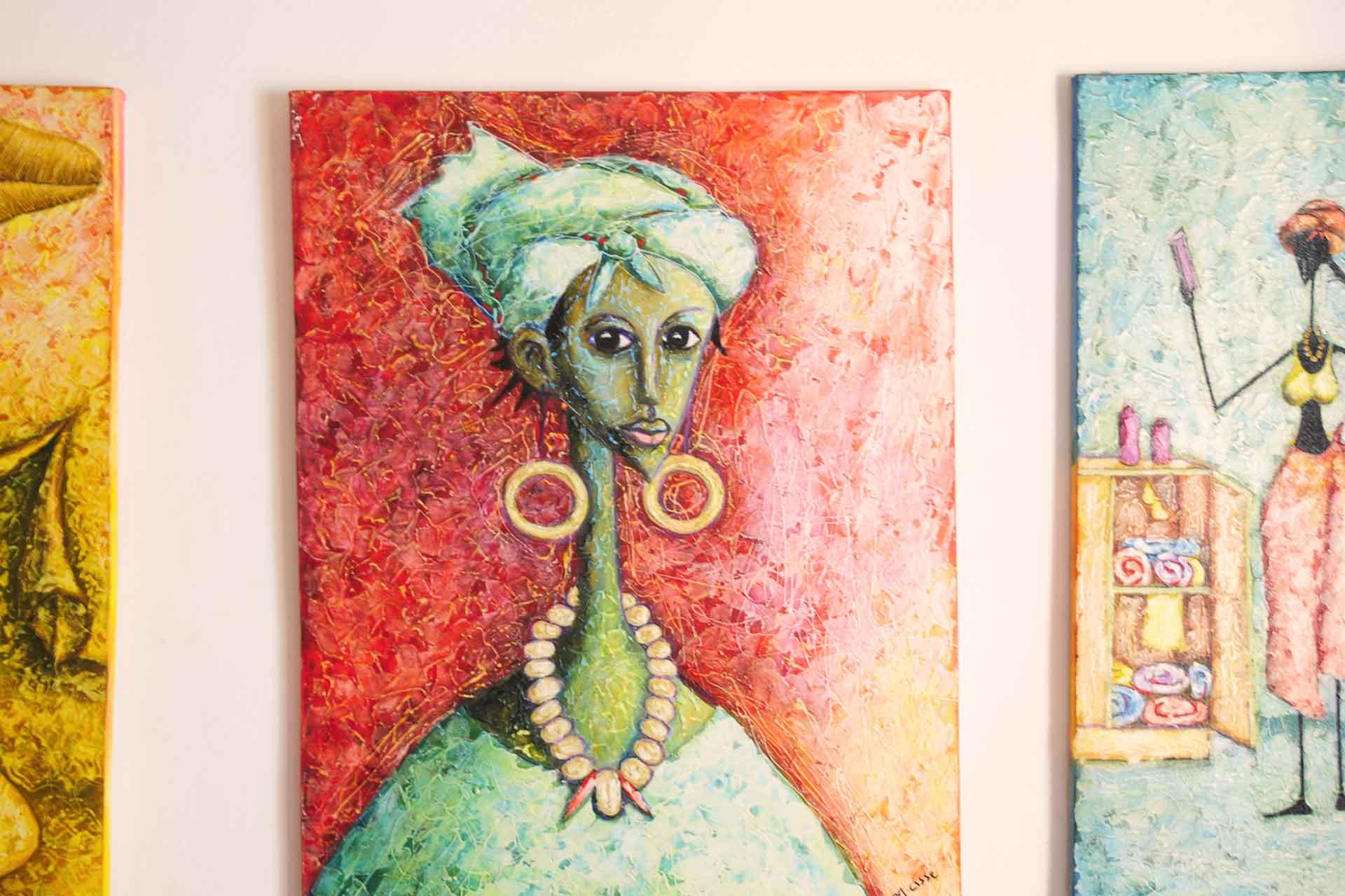 Lemonfish Gambian Art Galerie