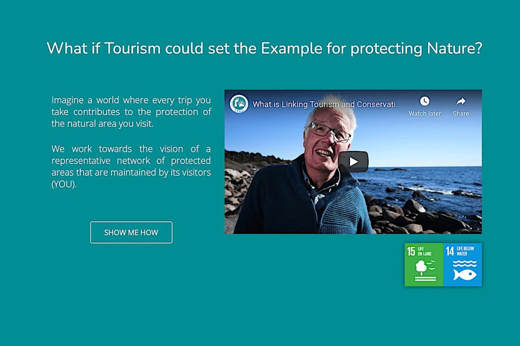 Vinculando turismo y conservación