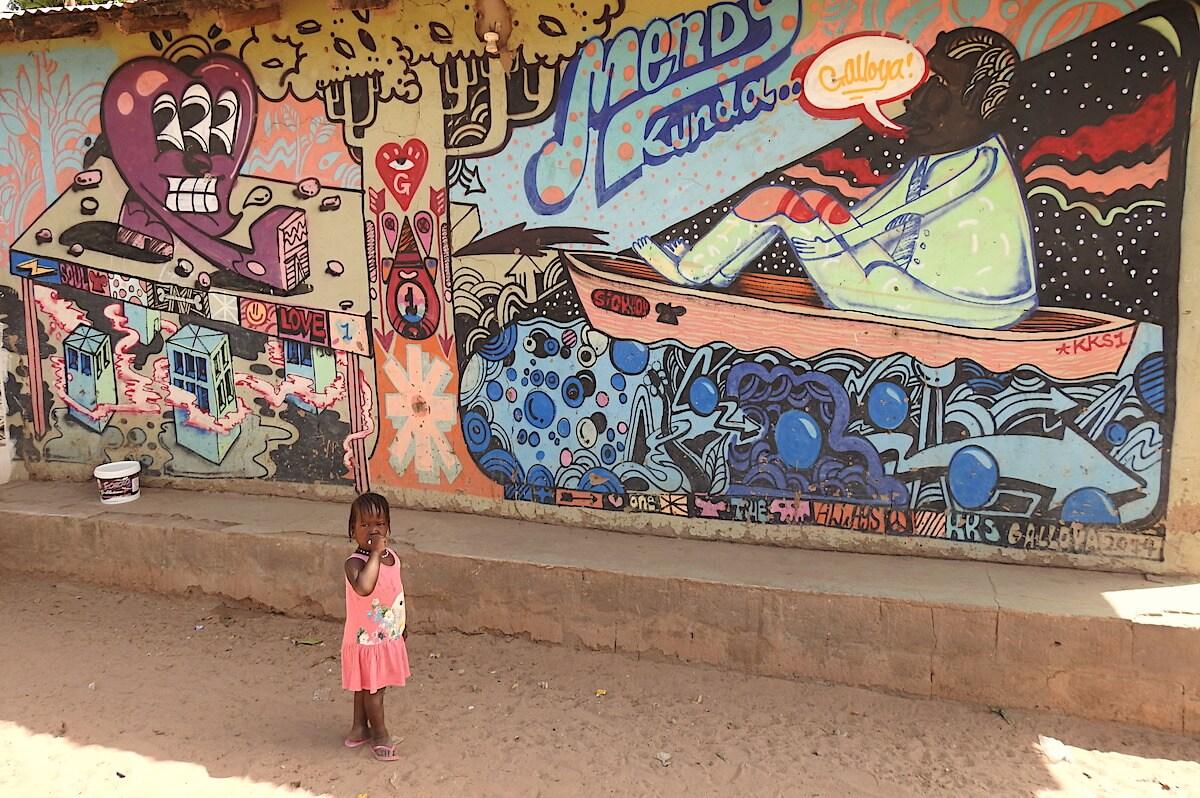 Gambia Kunst und Handwerk