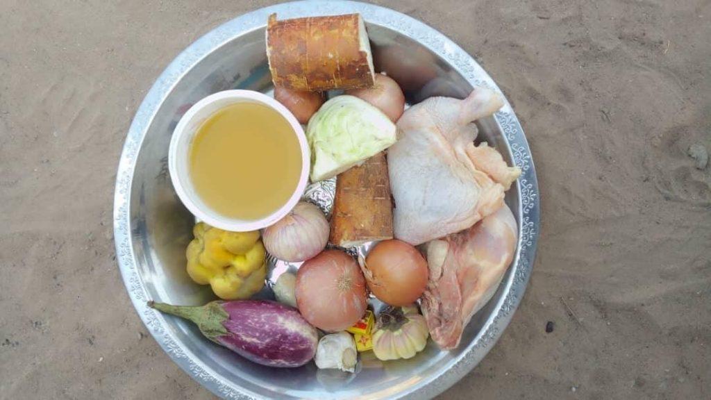 Foodbank-Paket für das Dorf