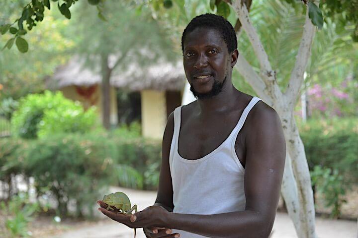 Lamin Bojang Bird Guide Gambie