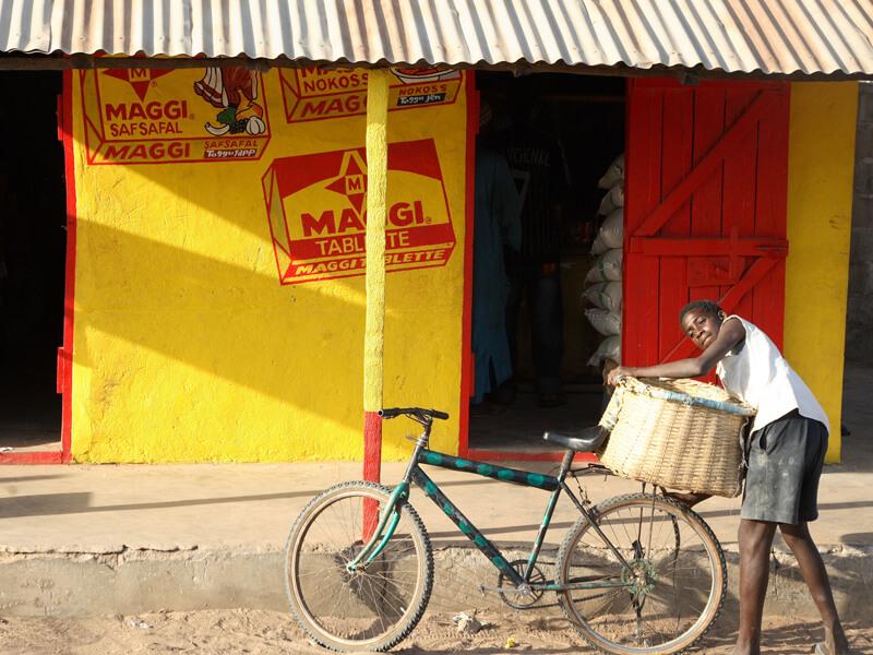 Gunjur Village shop