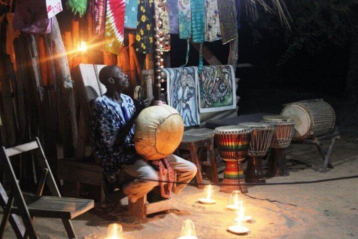 Música de Gambia Kora