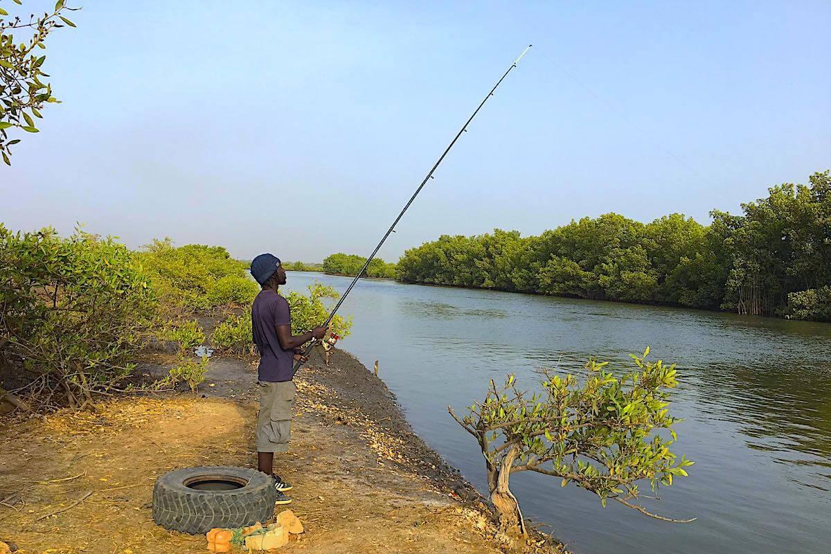 Pesca en el río con Ged Brown
