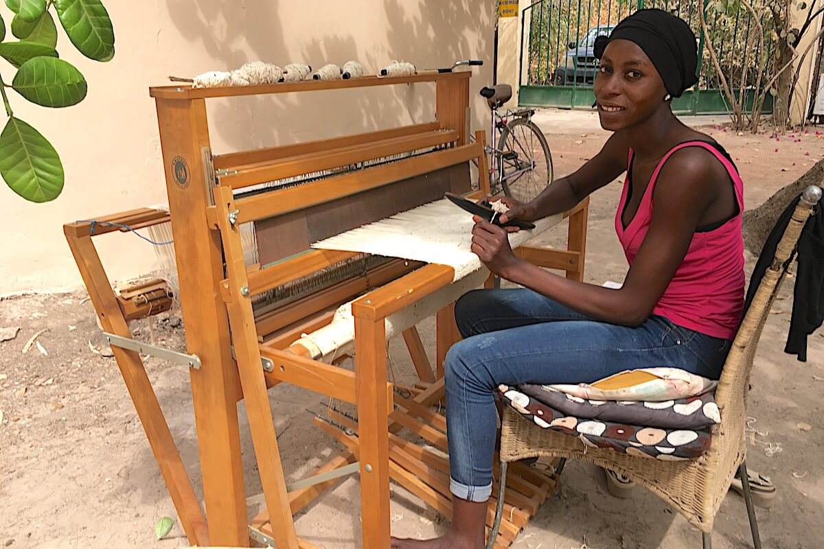 Nyanka weaving